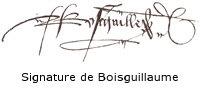 signature de Guillaume Colles